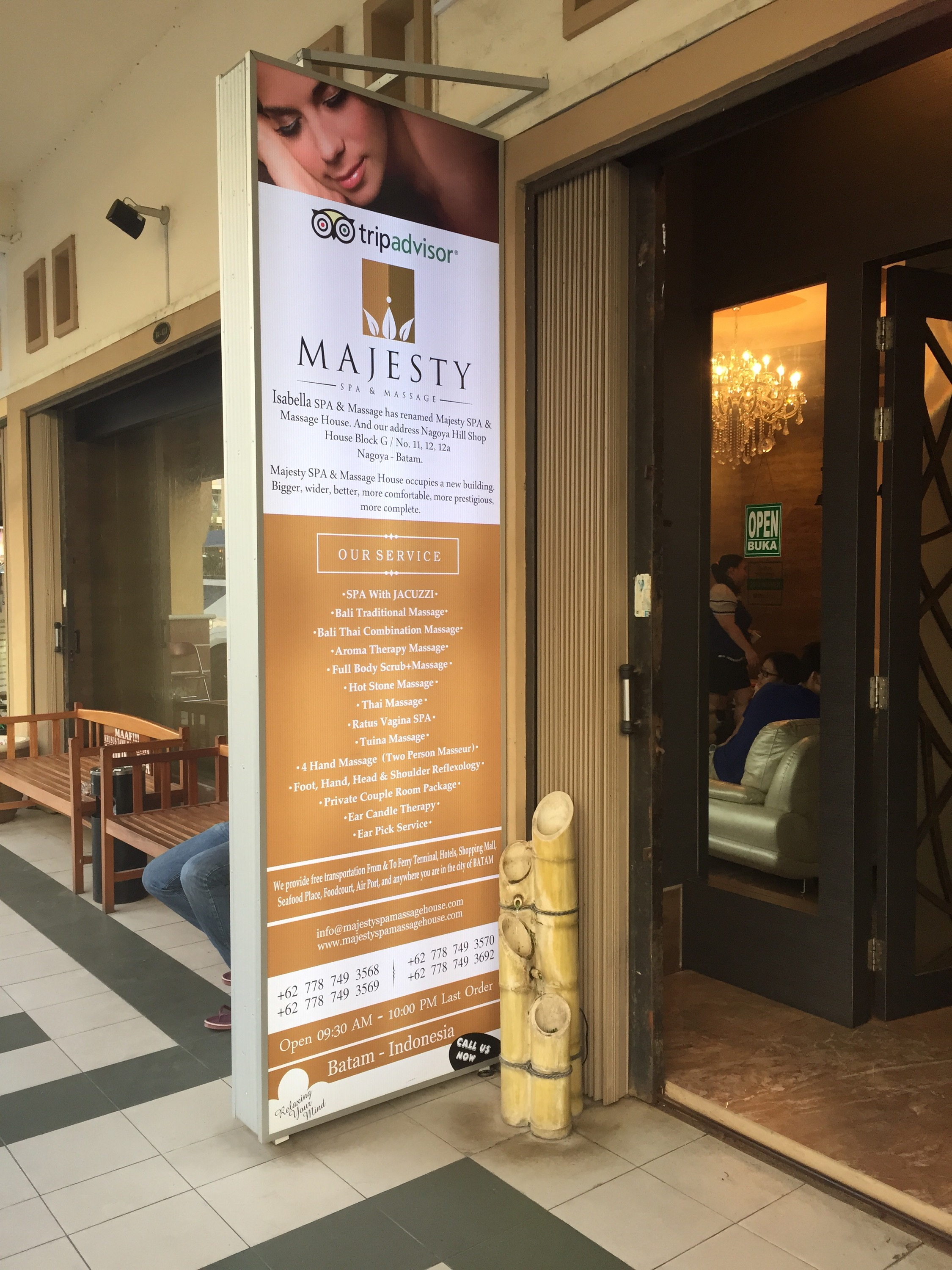 Batam Blog 2015 : Nagoya Mansion Hotel - Majesty Spa & Massage